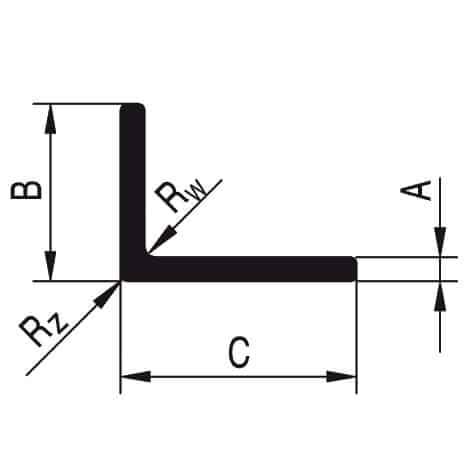 Profile aluminiowe - kątowniki