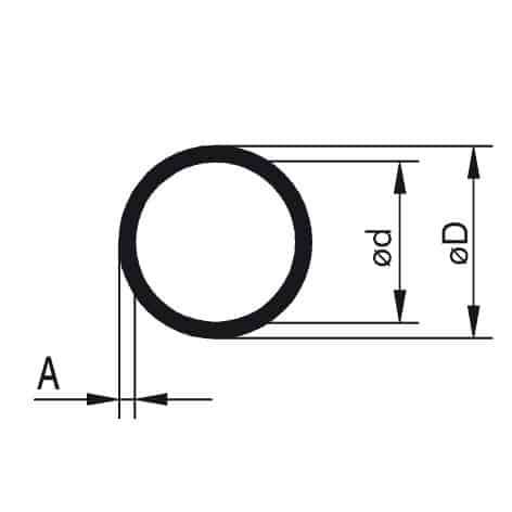 Profile aluminiowe - rurki okrągłe