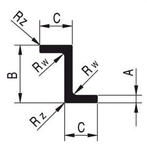 Profile aluminiowe - zetowniki