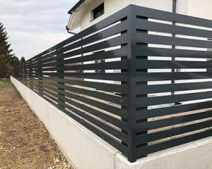 Ogrodzenie aluminiowe w Żywcu