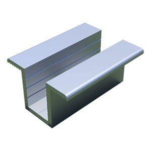 profile do montażu paneli fotowoltaicznych - klema klamra środkowa